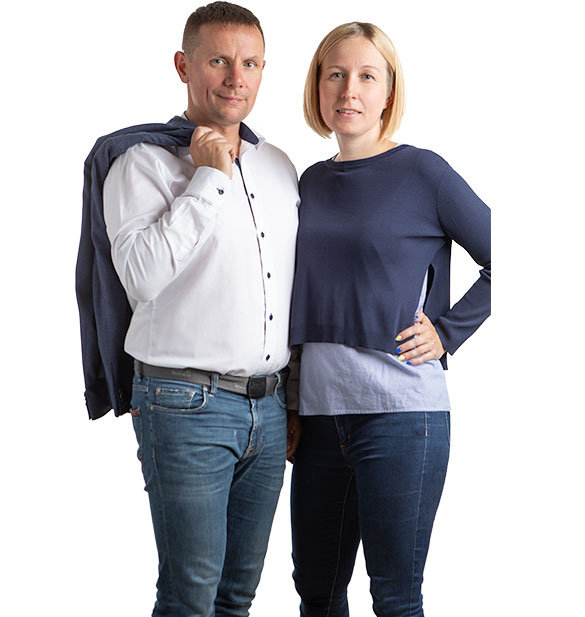 Dorota i Mieszko Kastelnik