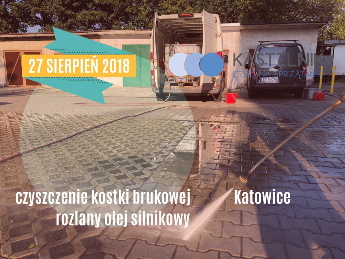 Mycie kostki brukowej Katowice Murcki