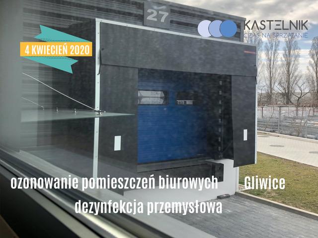 Profesjonalne ozonowanie biura Gliwice