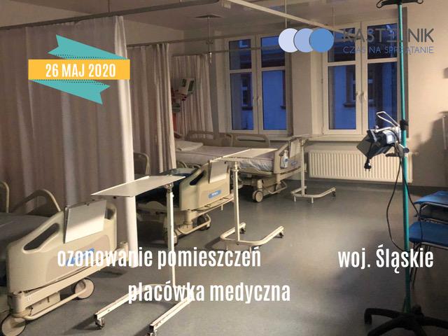 Odkażanie placówki medycznej poprzez ozonowanie