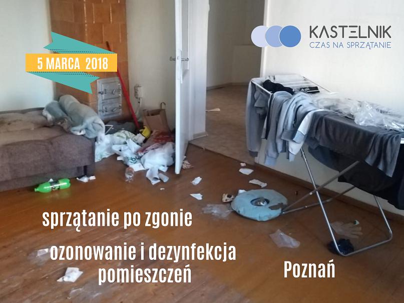 Sprzątanie mieszkania po zgonie Poznań