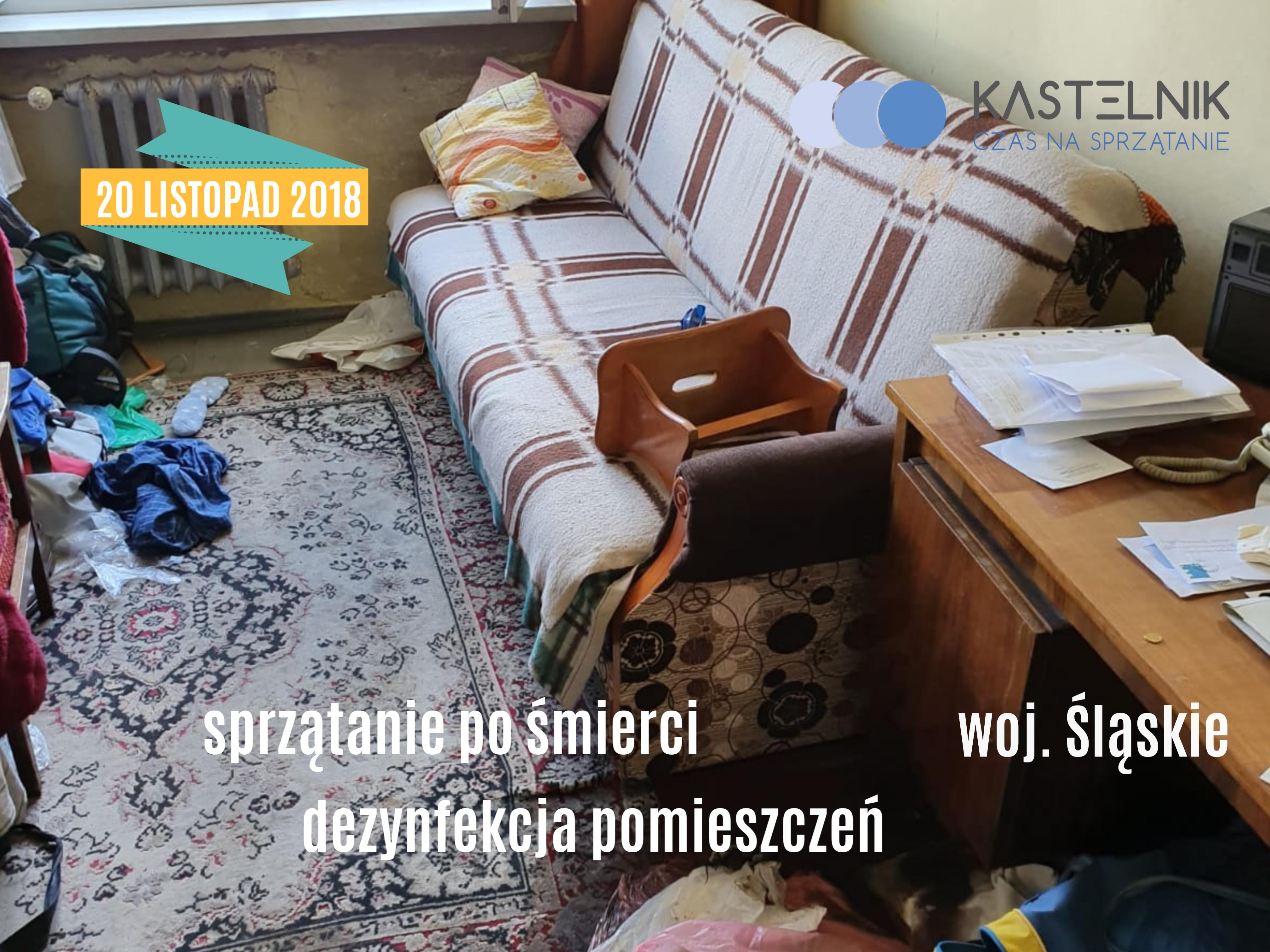 Sprzątanie domu jednorodzinnego po zgonie Wisła