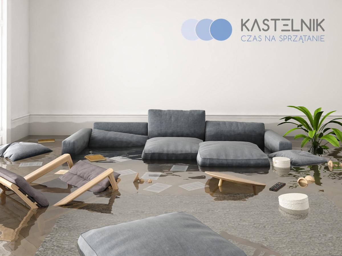 Etapy sprzątania mieszkania po zalaniu