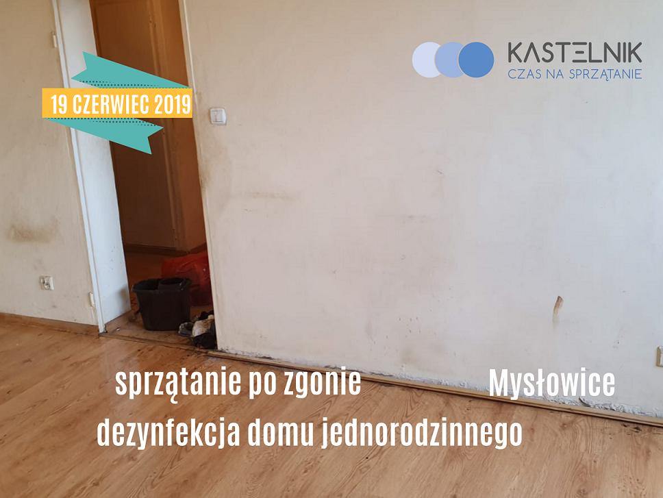 Sprzątanie domu jednorodzinnego po zmarłej osobie - Mysłowice