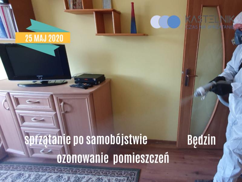 Sprzątanie mieszkania po śmierci samobójczej – Będzin