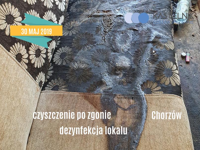 Dezynfekcja lokalu po zgonie Chorzów