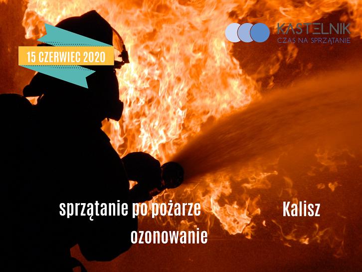 Sprzątanie domu po pożarze Kalisz