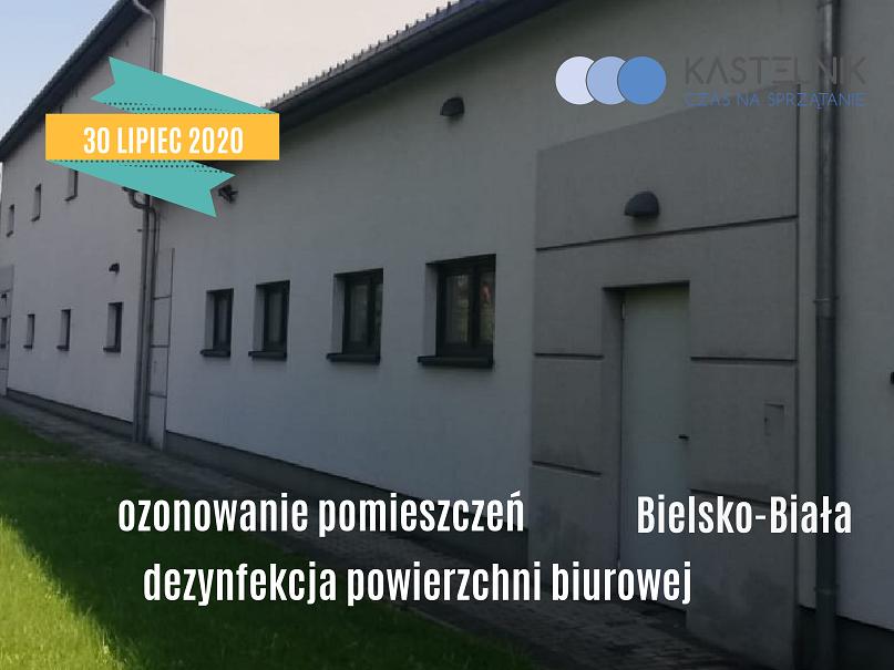 Ozonowanie i dezynfekcja pomieszczeń biurowych Bielsko-Biała