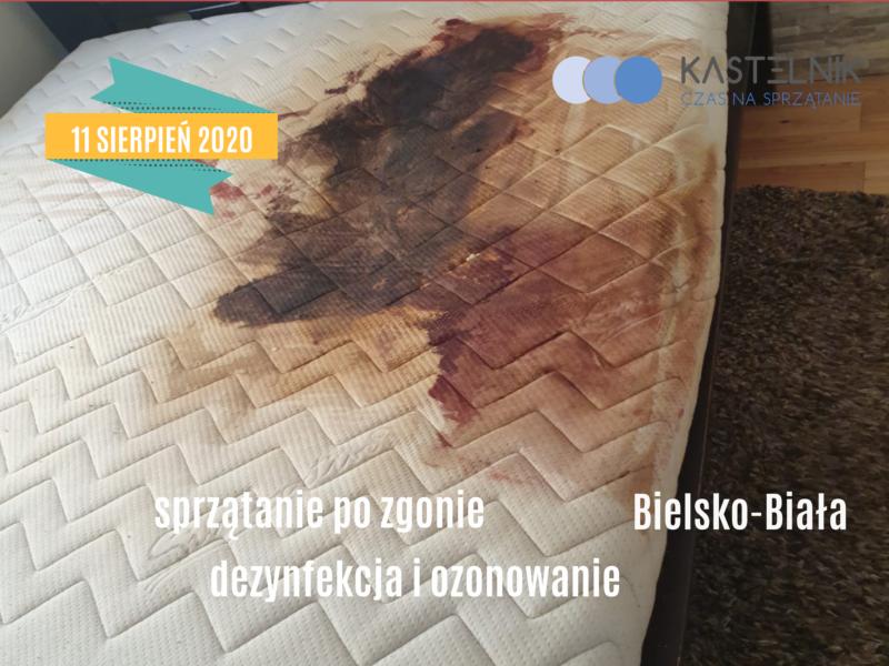 Usuwanie śladów po zgonie w domu Bielsko-Biała