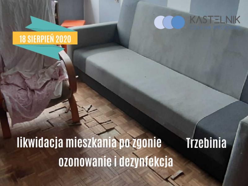 Sprzątanie mieszkania po zmarłej osobie Trzebinia