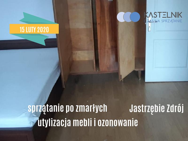 Sprzątanie po zmarłych w Jastrzębiu Zdroju