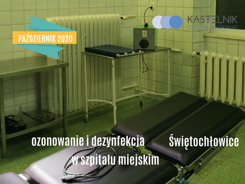 Ozonowanie szpitala w Świętochłowicach