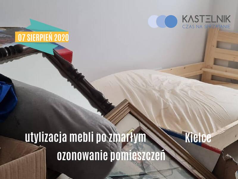 Sprzątanie po zmarłych w Kielcach