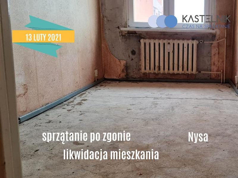 Czyszczenie mieszkania po zgonie w Nysie