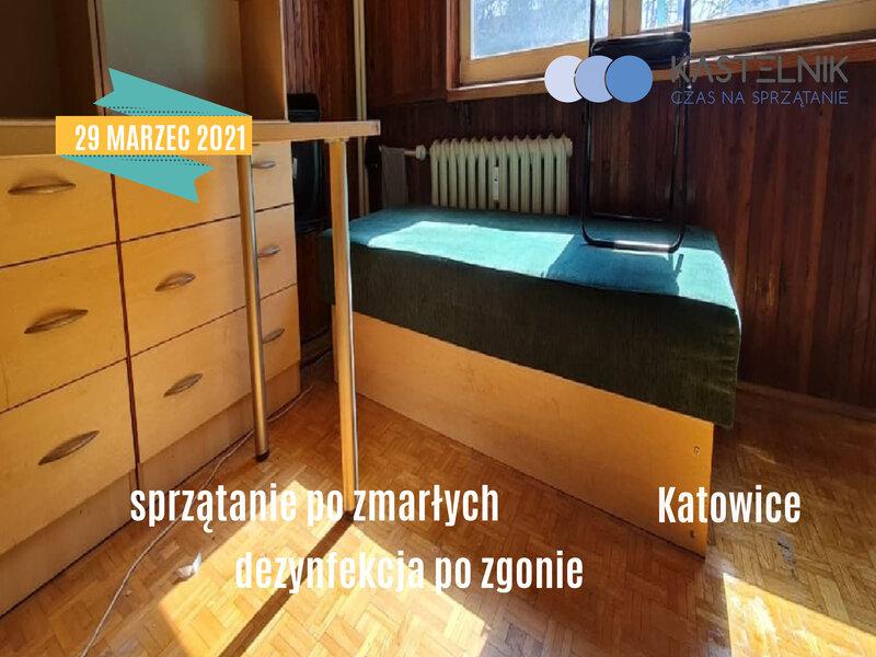 Sprzątanie po zgonach Katowice