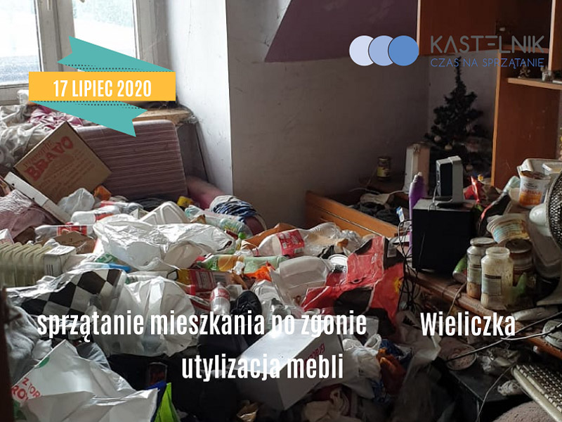 sprzątanie po zgonach w Wieliczce