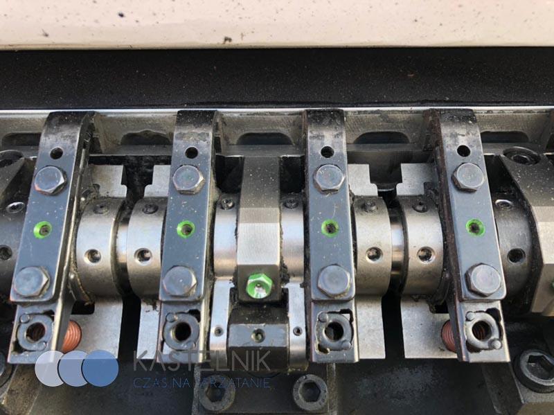 Mycie maszyn przemysłowych suchym lodem Kastelnik