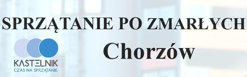 Sprzątanie po zmarłym w Chorzowie