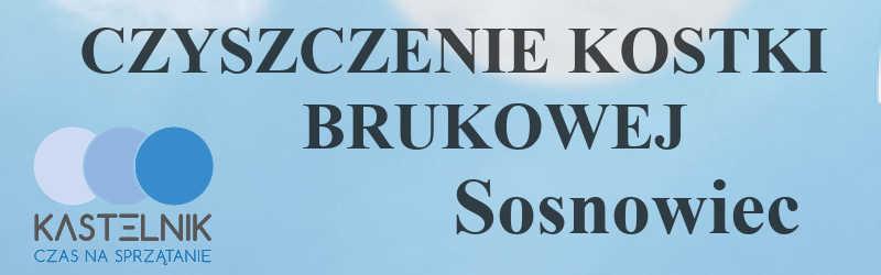 Czyszczenie kostki brukowej Sosnowiec Zagórze