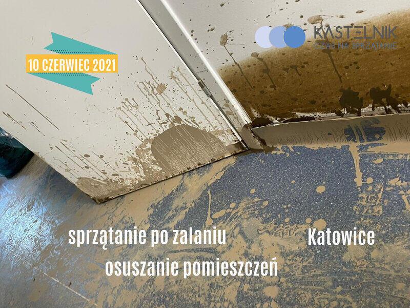 osuszanie po zalaniach w Katowicach