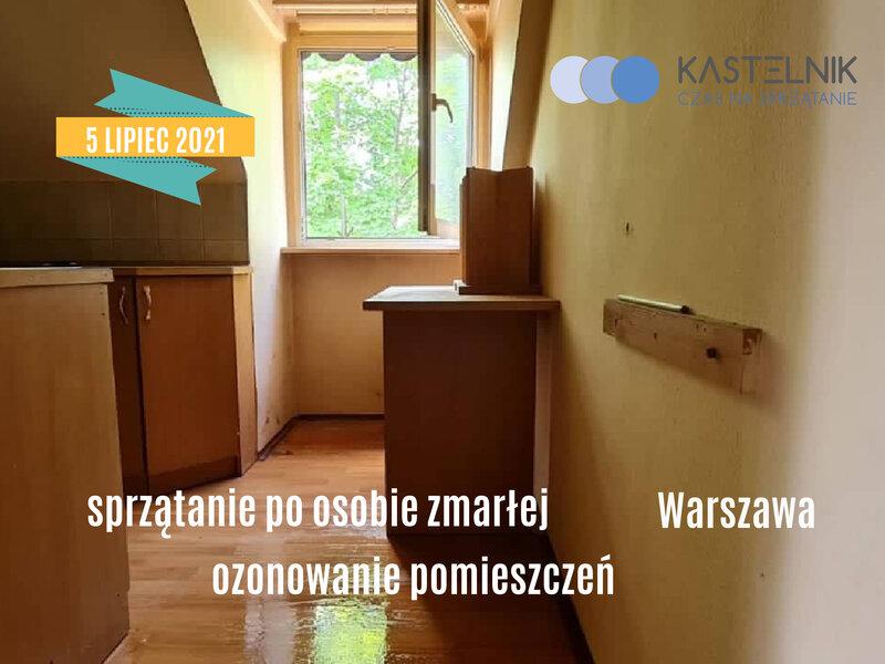 Sprzątanie po zgonie Warszawa Solec