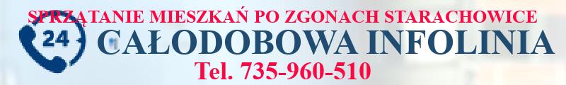 sprzątanie po zgonie w Starachowicach