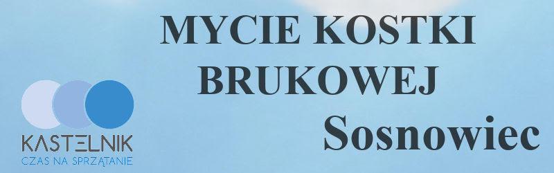 Mycie kostki brukowej Sosnowiec