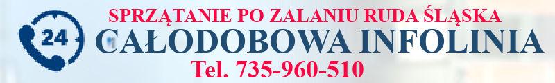 sprzątanie pomieszczeń po zalaniu Ruda Śląska