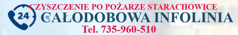 Czyszczenie po pożarze Starachowice