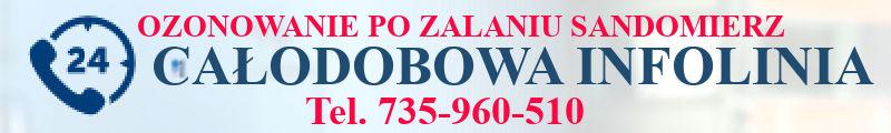 ozonowanie piwnicy po zalaniu Sandomierz