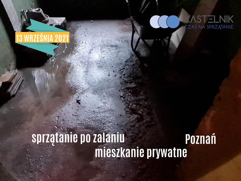 sprzątanie po zalaniu Poznań