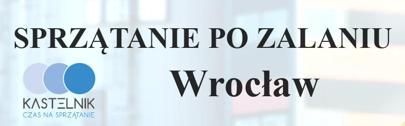 Sprzątanie po zalaniu Wrocław